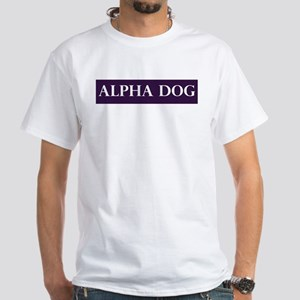 Alpha Dog White T-Shirt