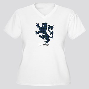 Lion - Clergy Women's Plus Size V-Neck T-Shirt