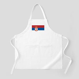 Serbia Flag BBQ Apron