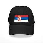 Serbia Flag Black Cap