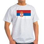 Serbia Flag Light T-Shirt