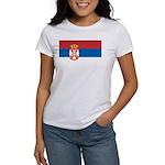 Serbia Flag Women's T-Shirt