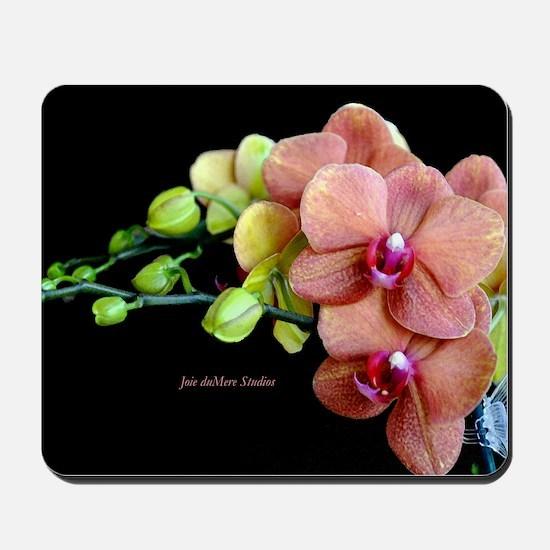 Orange Orchids 2 Mousepad