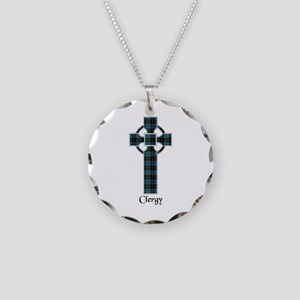Cross - Clergy Necklace Circle Charm