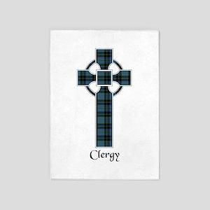 Cross - Clergy 5'x7'Area Rug