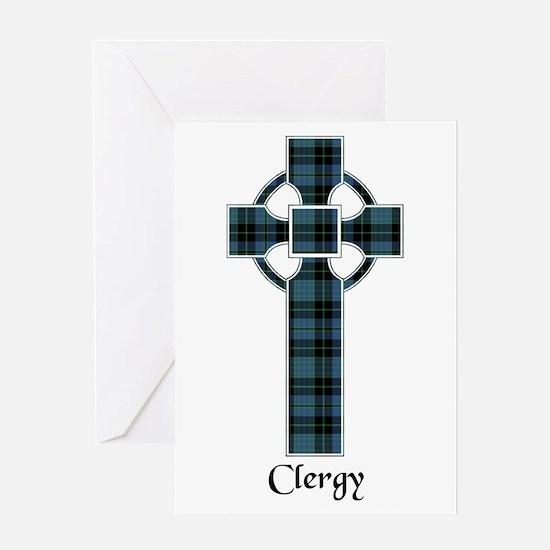 Cross - Clergy Greeting Card