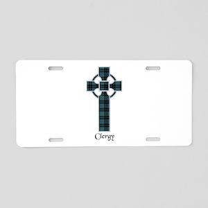 Cross - Clergy Aluminum License Plate