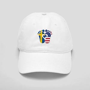 Swedish American Baby Baseball Cap