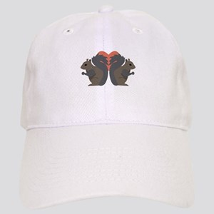 Squirrel Love Baseball Cap