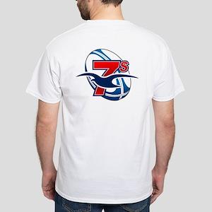 Mystic 7s White T-Shirt