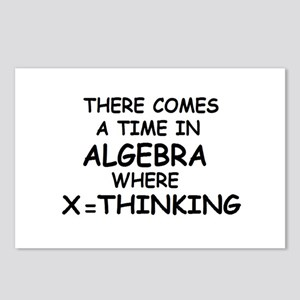 COMES A TIME IN ALGEBRA WHERE Postcards (Package o