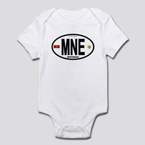 Montenegro Intl Oval Infant Bodysuit
