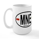 Montenegro Intl Oval Large Mug