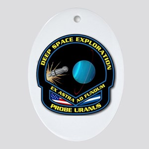 Uranus Ornament (Oval)