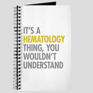 Its A Hematology Thing Journal