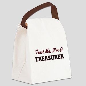 Trust me I'm a Treasurer Canvas Lunch Bag