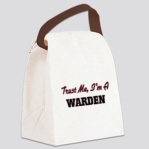 Trust me I'm a Warden Canvas Lunch Bag