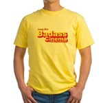 Badass Cinema Yellow T-Shirt