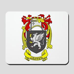 GRIFFEN Coat of Arms Mousepad