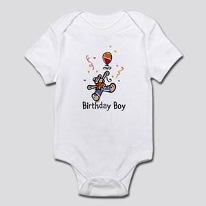 Birthday Bear Infant Bodysuit