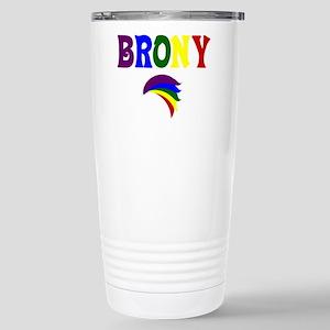 Brony rainbow 329 Stainless Steel Travel Mug