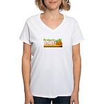 Bambazonki Babe Women's V-Neck T-Shirt