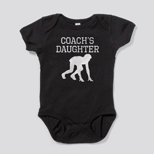 Track Coachs Daughter Baby Bodysuit