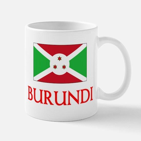 Burundi Flag Design Mugs
