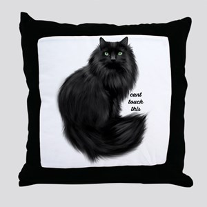 Cant Touch This Throw Pillow