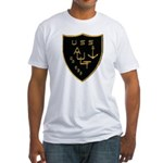 USS AULT Fitted T-Shirt