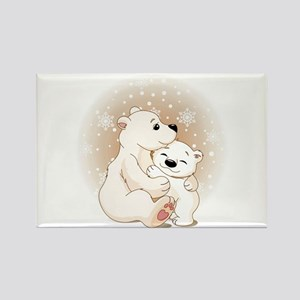 Bear Hugs- Rectangle Magnet