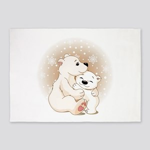 Bear Hugs- 5'x7'Area Rug