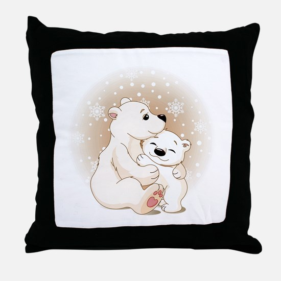 Bear Hugs- Throw Pillow