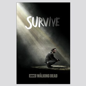Survive The Walking Dead Large Poster