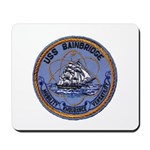 USS BAINBRIDGE Mousepad