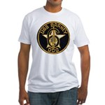 USS BARNEY Fitted T-Shirt