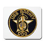 USS BARNEY Mousepad