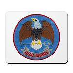 USS BARRY Mousepad