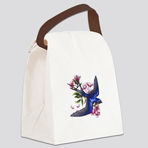 swallow Canvas Lunch Bag