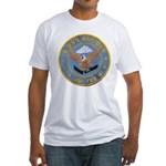 USS BARTON Fitted T-Shirt