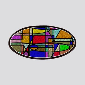Abstract Stained Glass Patches