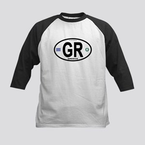 Greece Intl Oval Kids Baseball Jersey