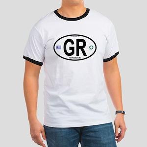 Greece Intl Oval Ringer T