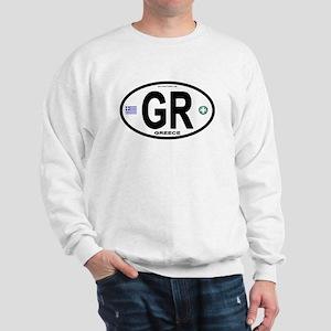 Greece Intl Oval Sweatshirt