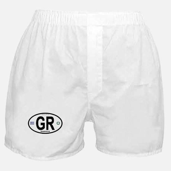 Greece Intl Oval Boxer Shorts