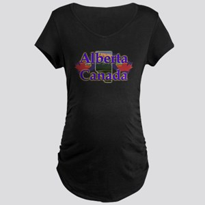 Alberta Maternity Dark T-Shirt