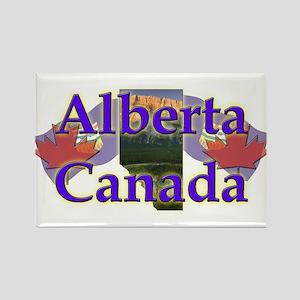 Alberta Rectangle Magnet