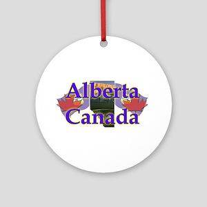 Alberta Ornament (Round)