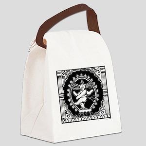 Shi-Bear Canvas Lunch Bag