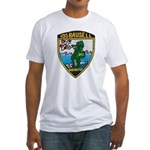 USS BAUSELL Fitted T-Shirt